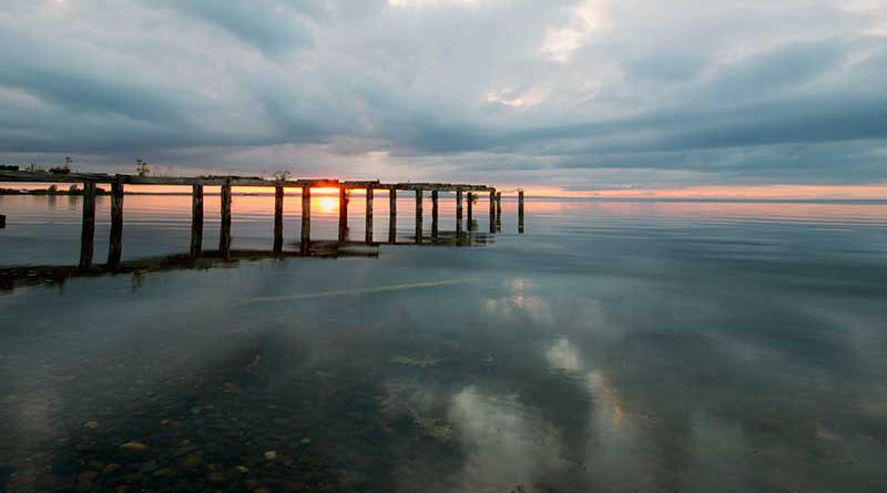 Old pier at Derrytrasna, Lough Neagh