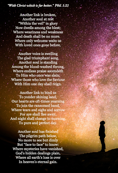 A poem for bereaved